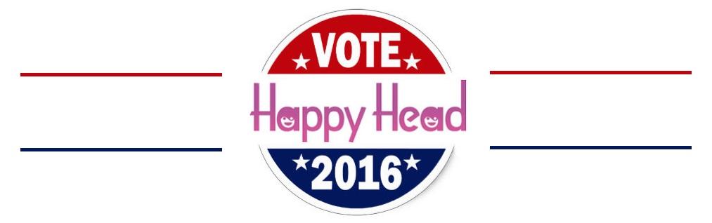 vote Happy Head