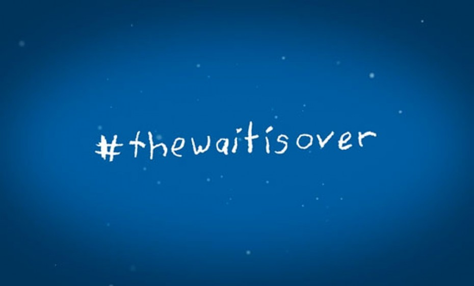 thewaitisover