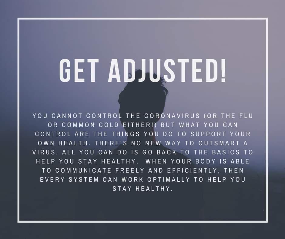 COVID get adjusted